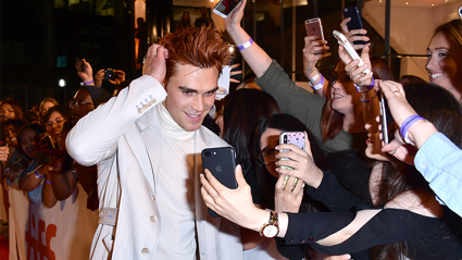 "KJ Apa opens up about having strangers ""touch"" him in the street"
