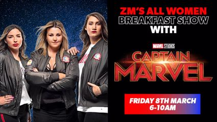 ZM's first, all women breakfast show for International Women's Day thanks to Marvel Studios' Captain Marvel!