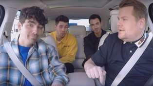 The Jonas Brothers Carpool Karaoke is out, just in time to make your Friday so much better