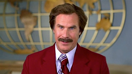 Our favourite anchorman Ron Burgundy is back!