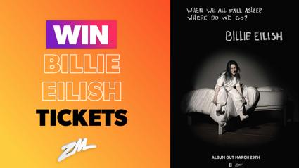 Win Billie Eilish tickets to celebrate her new album!