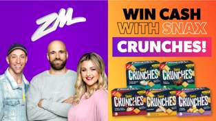 Win Cash With Snax Crunches!