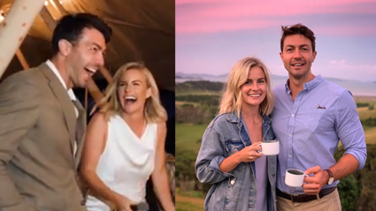 Matilda Green shares wedding speech video where she announces her pregnancy