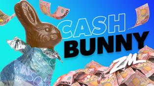 Win with ZM's Cash Bunny!