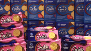Girl Guide biscuits are available for ONE LAST DAY