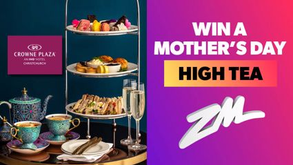 Christchurch: Win a Mothers Day High Tea with the Crowne Plaza
