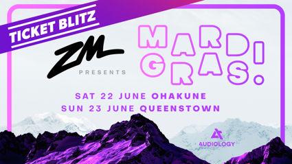 Mardi Gras 2019 Ticket Blitz