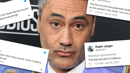 People are furious that the 'disgusting Kiwi accent' was ranked sexiest