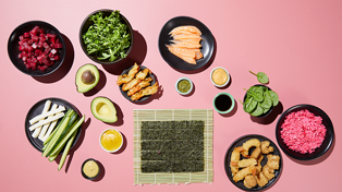 A create-your-own sushi store just opened in NZ