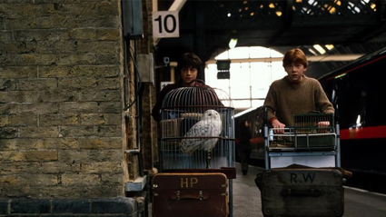 A Harry Potter train is pulling into a New Zealand station in July!