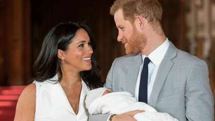 First look at Royal Baby Archie