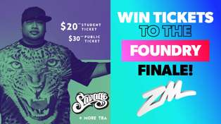 CHRISTCHURCH: Win Tickets to Savage's Foundry Finale!