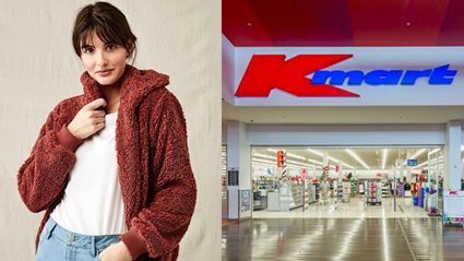 This affordable Kmart jacket is probably going to change your winter