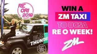 CHRISTCHURCH: ZM Taxis to UCSA Re Ori Week!