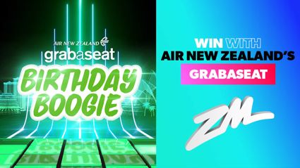 Be a part of the Air New Zealand Grabaseat's birthday boogie!