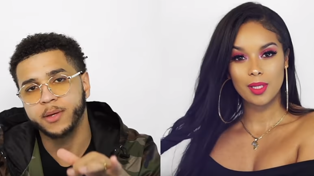 This hubby rapped his wife's makeup routine and it's hella cute