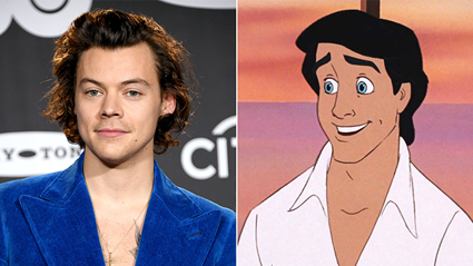 Harry Styles could play Prince Eric in The Little Mermaid live action film!