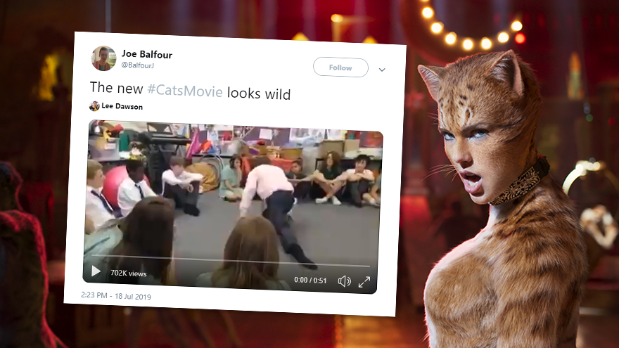 The best reactions to the disturbing \u0027Cats\u0027 movie trailer
