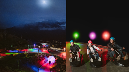 Queenstown is getting a night luge and it looks epic!