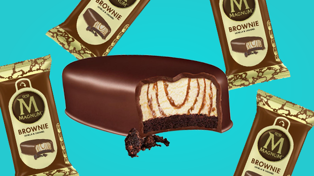 Magnum released a new ice cream- with a WHOLE brownie in it