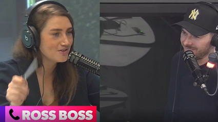 Bree & Clint swear at Ross Boss as many times as they can