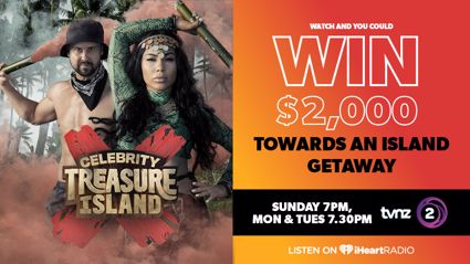 Watch and win your own island escape with TVNZ2 Celebrity Treasure Island
