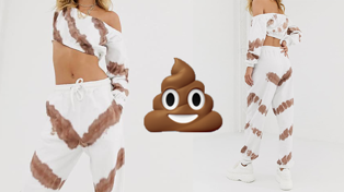 These ASOS pants look like you've pooed yourself...cute!