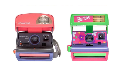 Polaroid releases vintage Spice Girls and Barbie cameras!