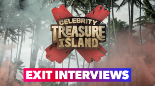 Celebrity Treasure Island- First eliminated contestant interview