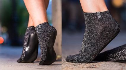 These socks promise to save your feet on the walk home from a night out!