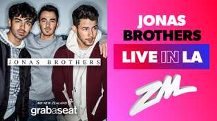 See the Jonas Brothers Live in LA thanks to Air New Zealand's Grabaseat.