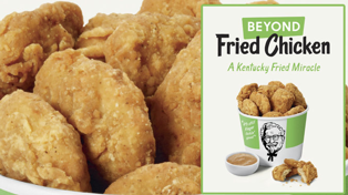 KFC introduces vegan fried chicken!