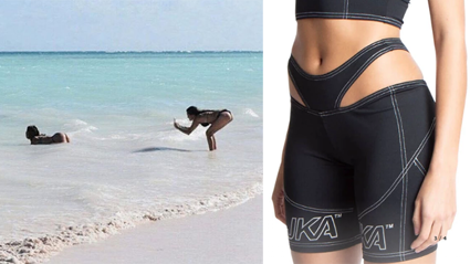 These g-string bike shorts are going viral for obvious reasons