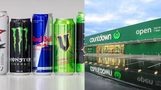 You'll now have to show ID when buying energy drinks at Countdown