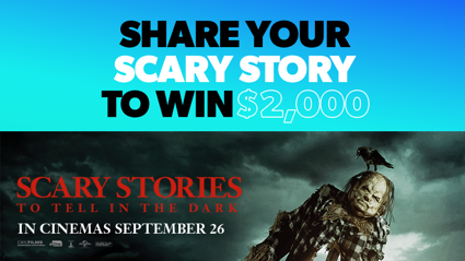 Win $2000 with Scary Stories To Tell In The Dark