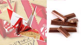Kit Kat ditches plastic so you can make origami (and save the planet)