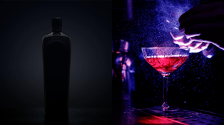 This NZ black gin makes pretty colour changing cocktails