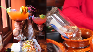 These massive margaritas are made with a whole bottle of tequila