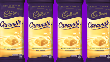Caramilk is back on NZ shelves TODAY!