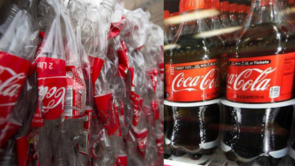 Coca-Cola bottles will now be made from 100% recycled plastic!