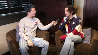 Matty Healy chats to Cam about The 1975's upcoming album