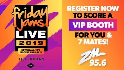 Southland: WIN a Friday Jams Live Party VIP Booth Experience!