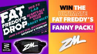WIN the Ultimate Fat Freddy's Fanny Pack!