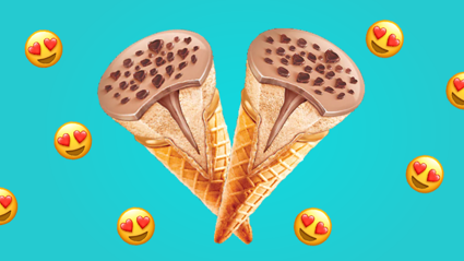 Chocolate Bueno ice creams are EXACTLY what dreams are made of