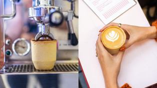 Edible coffee cups have arrived in NZ cafes