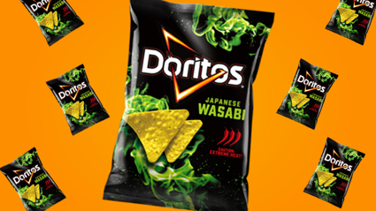 Wasabi Doritos are flaming hot and we need to try them!