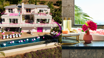 You can now stay in the real-life Barbie Dreamhouse!