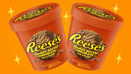 Reeces pieces ice cream is here in time for summer!