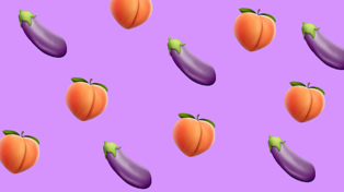 Some social media platforms are cracking down on the use of eggplant and peach emojis