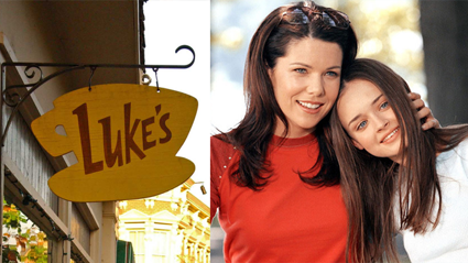 You can visit the Gilmore Girls set and eat at their actual house!